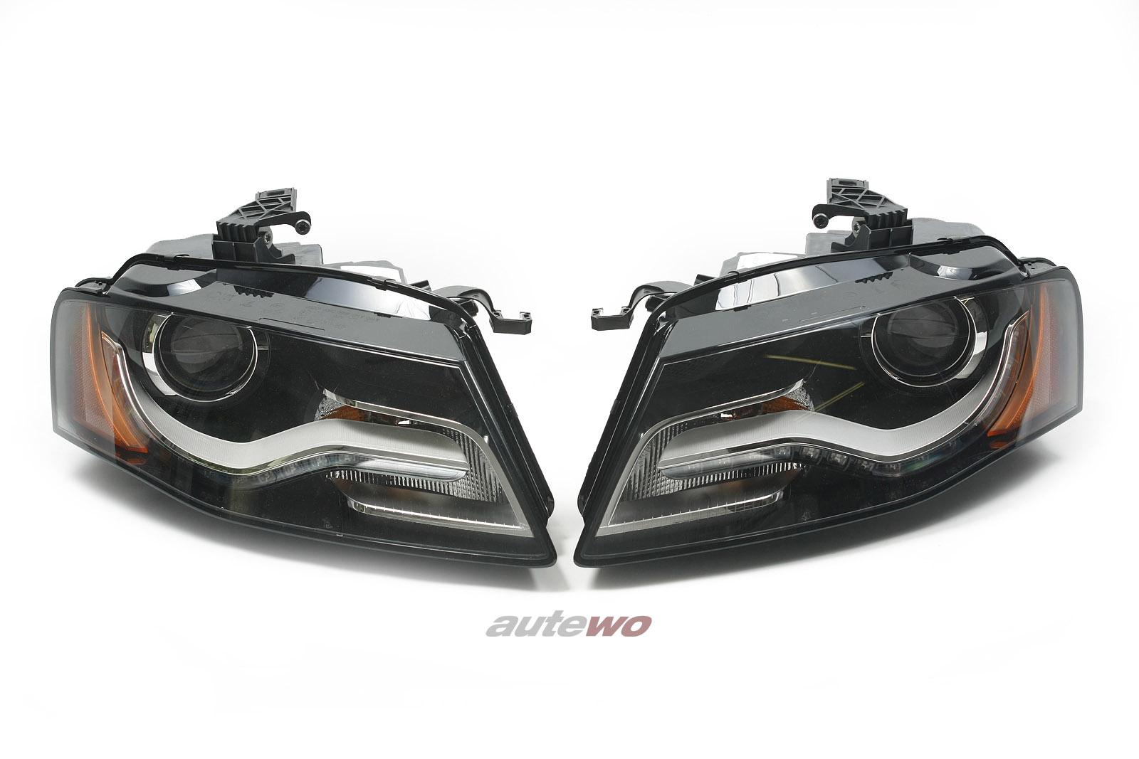 8K0941029AP/J & 8K0941030AP/J NEU Audi A4 8K Bixenon-Scheinwerfer-Paar LED US