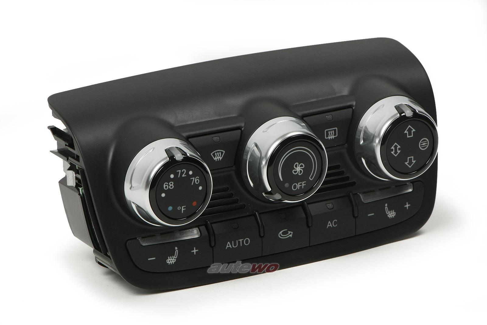 8J0820043AA NEU Audi TT/TTS 8J Klimatronic-Bedienteil US-Ausführung Sitzheizung