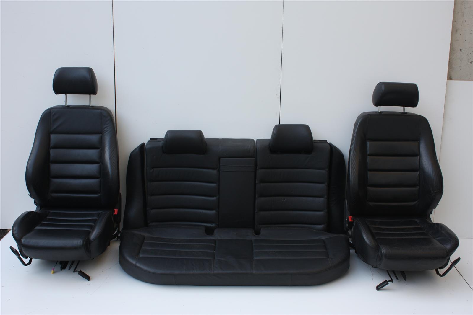 Audi A4 S4 B5 Avant Innenausstattung Leder Schwarz