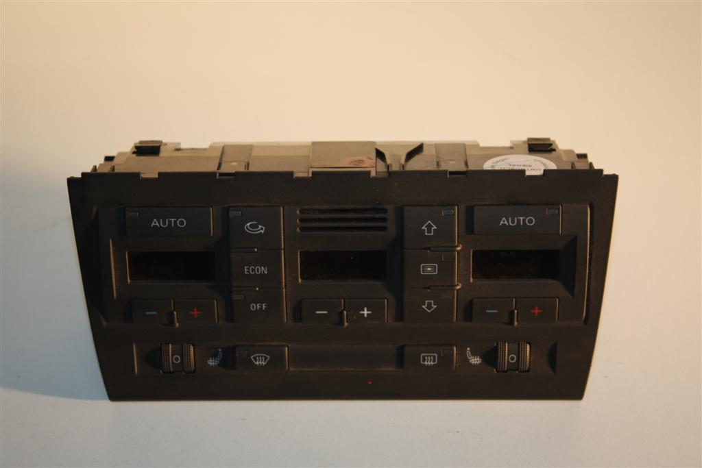 audi a4 s4 8e klimatronic display inkl sitzheizung. Black Bedroom Furniture Sets. Home Design Ideas