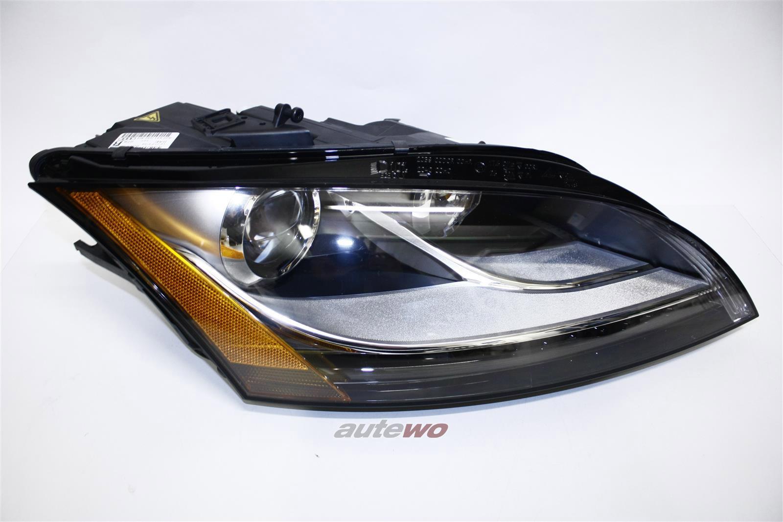 8J0941030AP NEU&ORIGINAL Audi TT/TTRS Bi-Xenon-Scheinwerfer US-Version Rechts