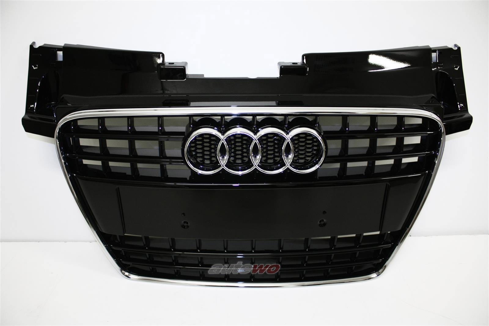 8J0853651 NEU Audi TT 8J Kühlergrill S-Line LY9B Brilliantschwarz