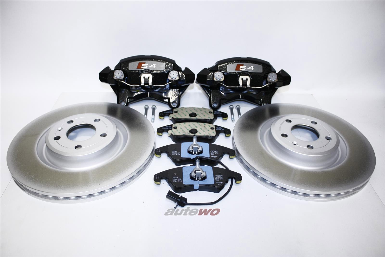 8K0615123G/124G/8T0615123C/124C  NEU Audi S4 8K/S5 8T kompl. Bremsanlage 345x30