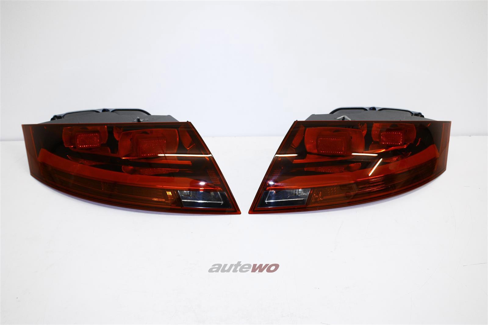 8J0945095C/G & 8J0945096C/G  NEU Audi TT 8J Rückleuchten-Paar dunkel