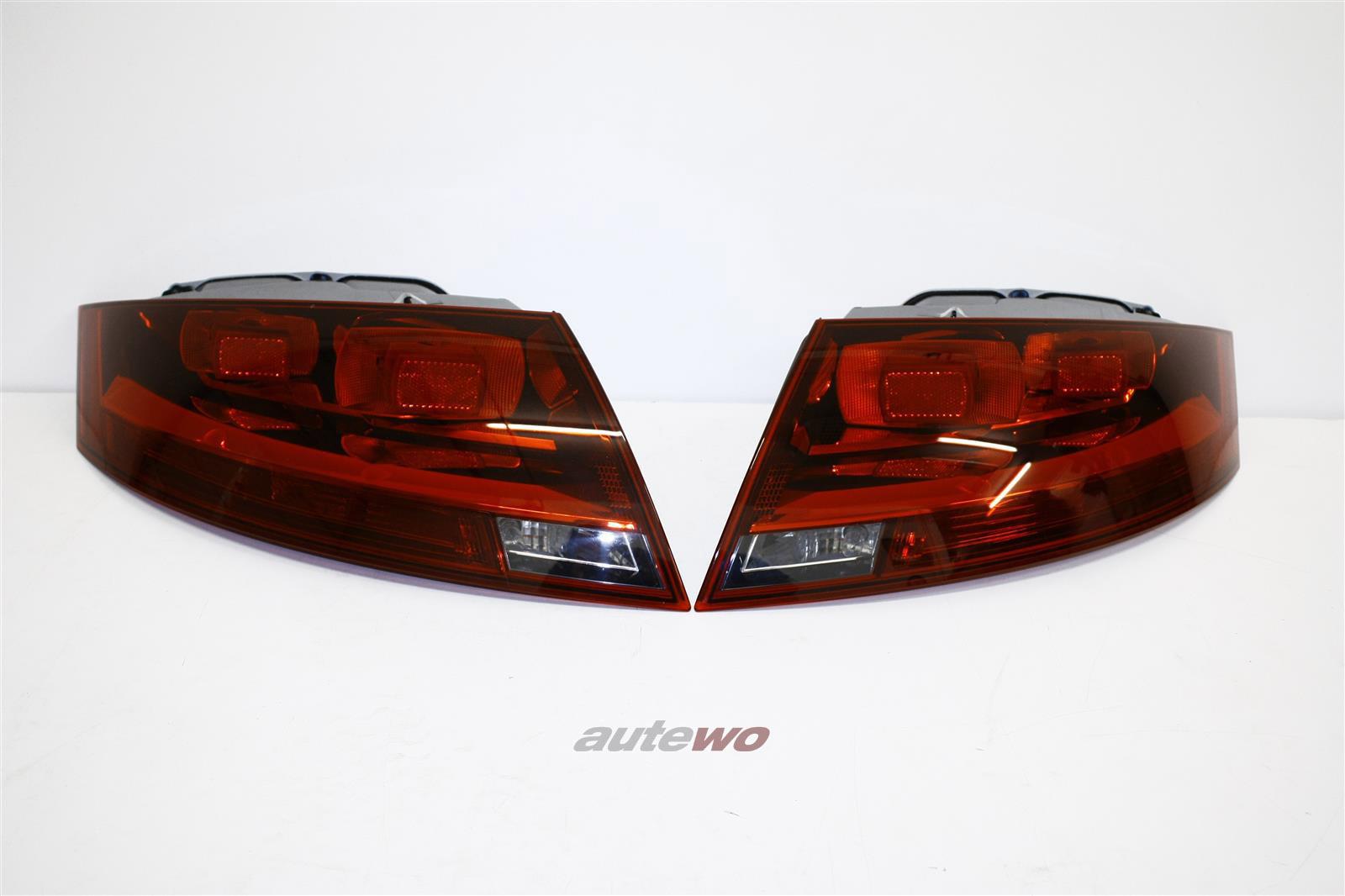 8J0945095E/J & 8J0945096E/J NEU Audi TT 8J Rückleuchten-Paar US-Ausführung dunkel