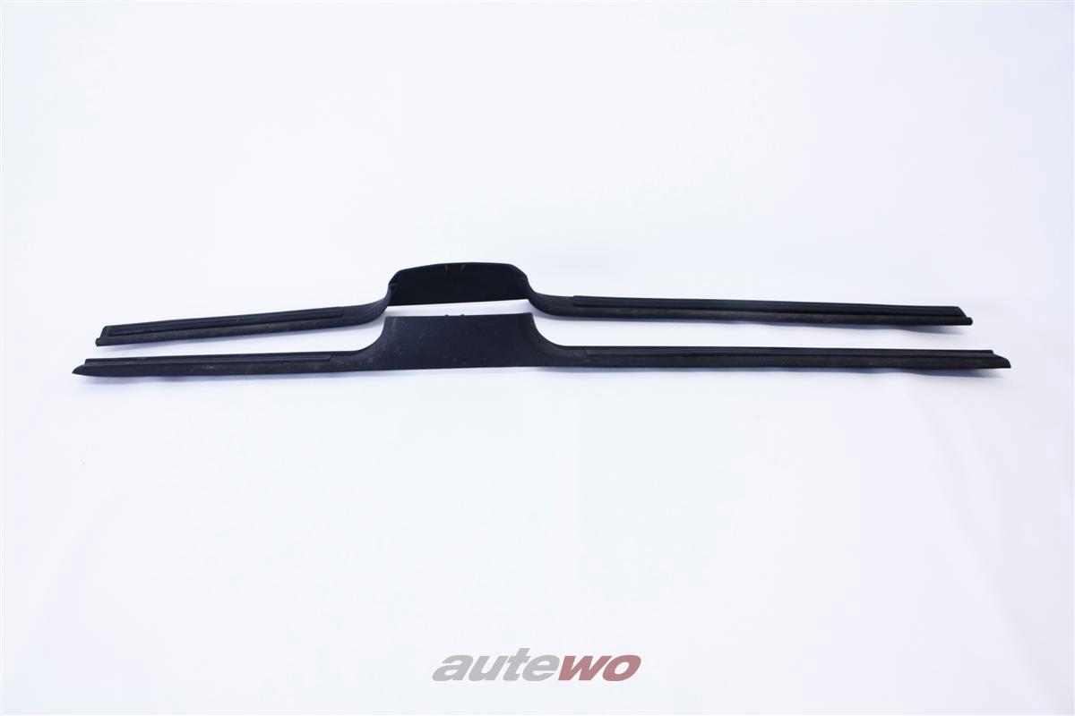 Audi 100/A6 C4 Einstiegsleisten Teppich schwarz 4A0864611  & 4A0864612