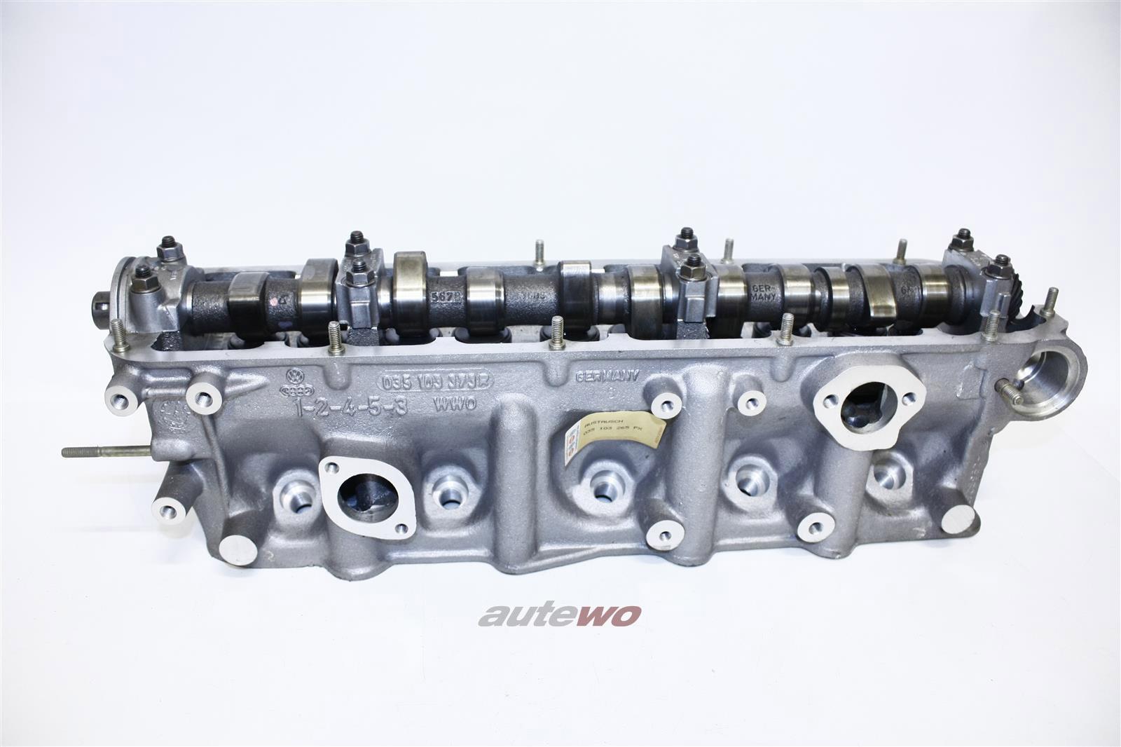Audi 100 Typ 44 1.9l 100PS 5 Zyl. WH Zylinderkopf kompl. 035103265PX
