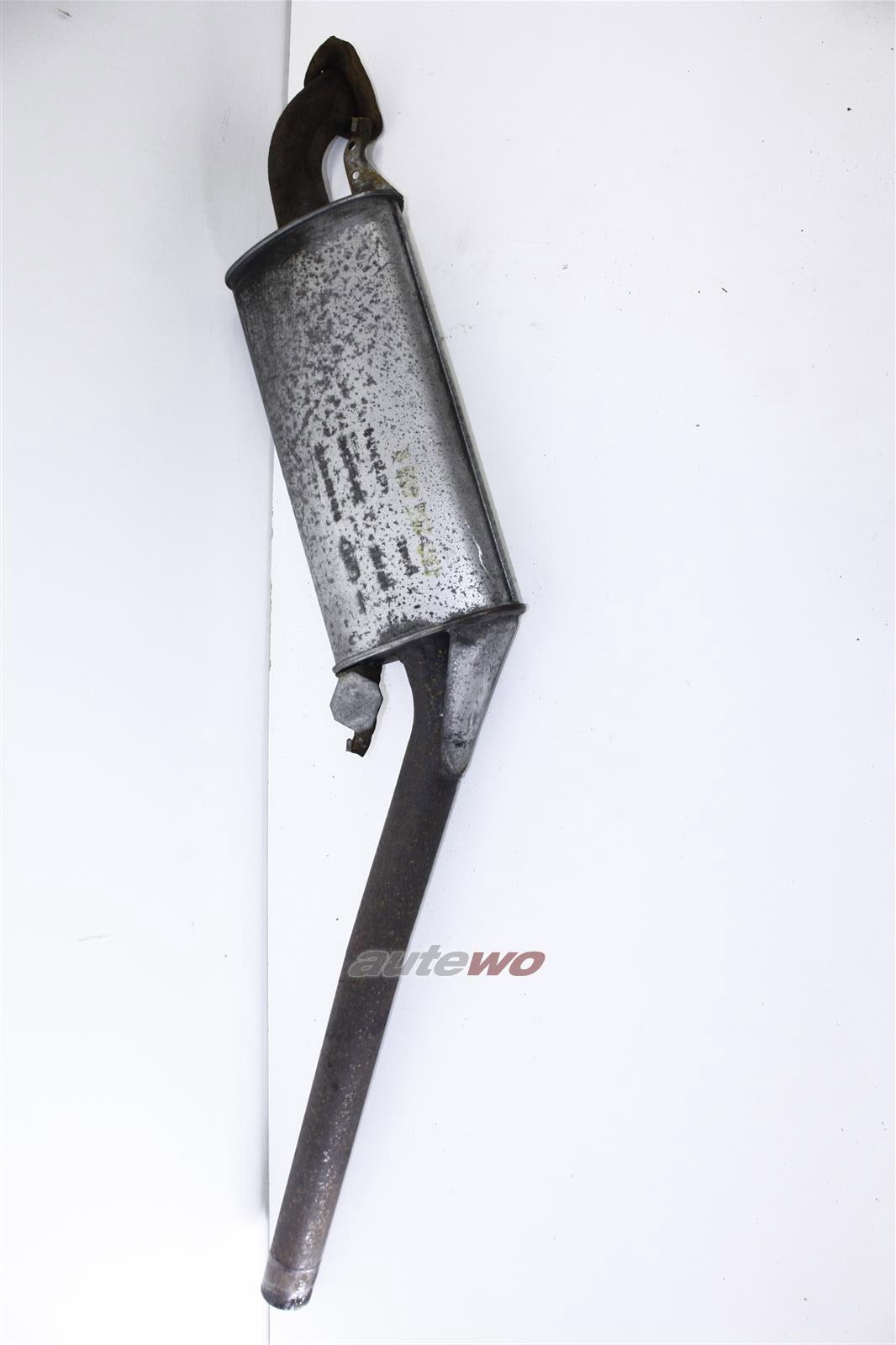 Audi 100/A6 C4 2.5l TDI AAT/AEL Original Mittelschalldämpfer 4A0253409R 443253411Q
