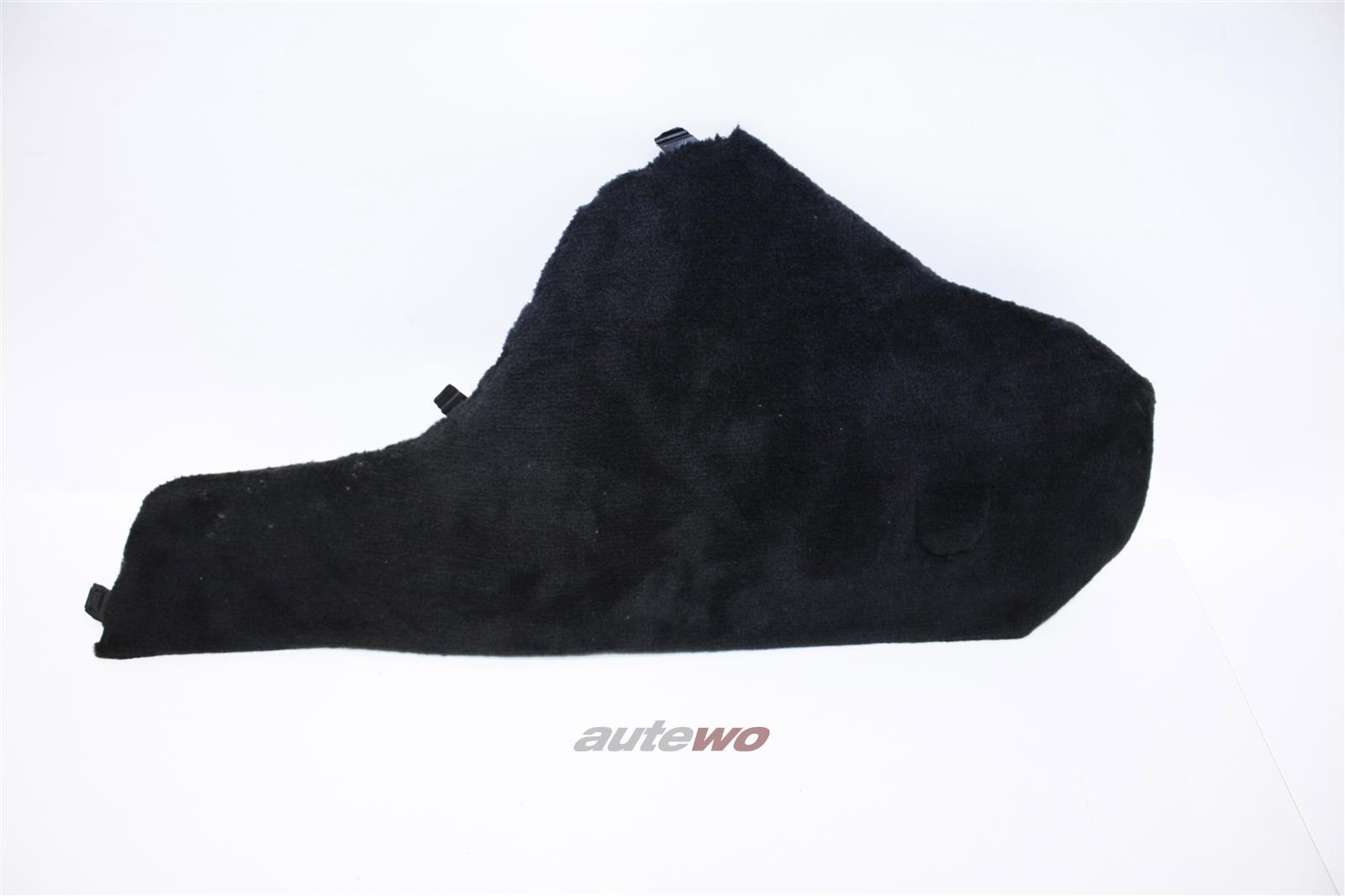 Audi 100/200 Typ 44 Seitenverkleidung Mittelkonsole Rechts schwarz 443863306C