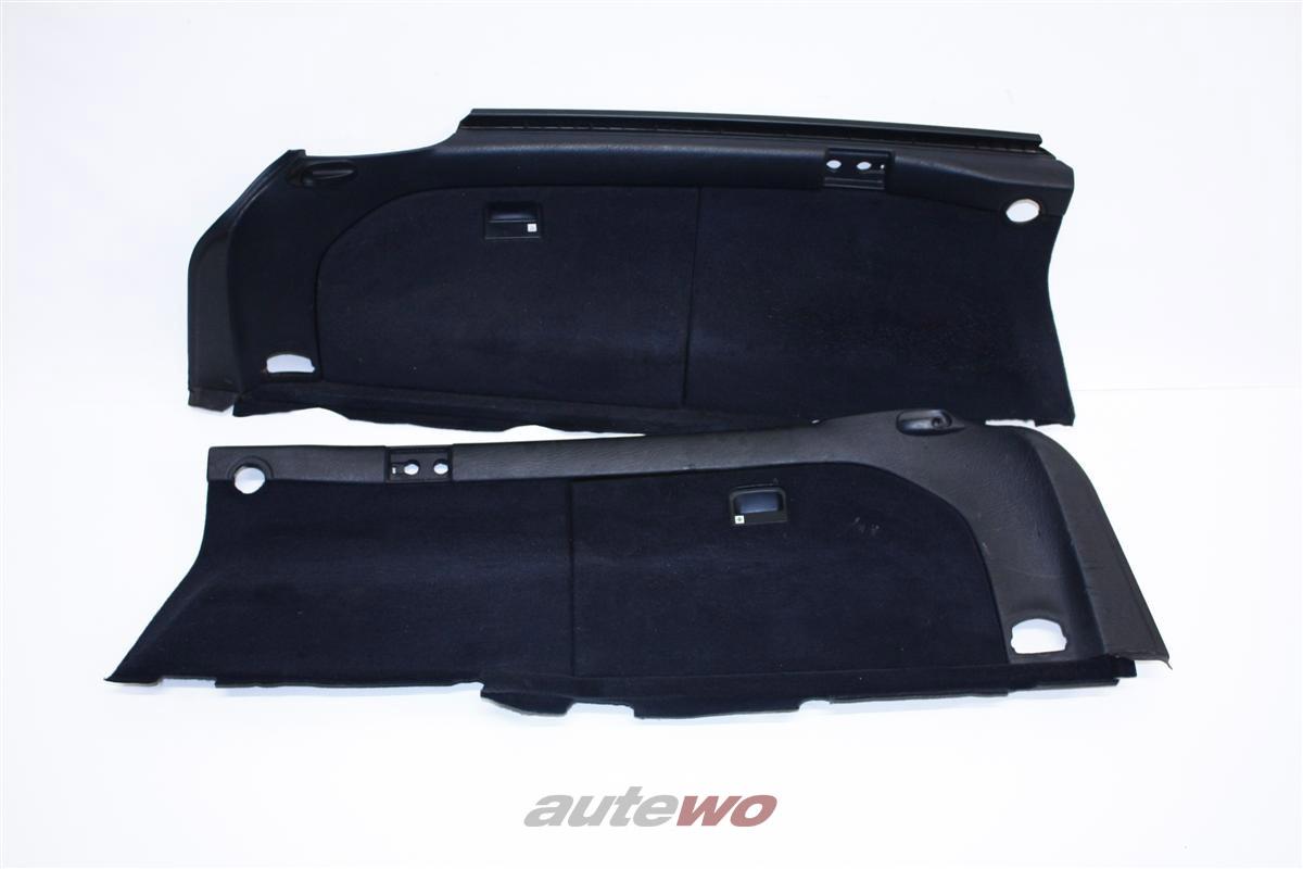 Audi 100/A6 C4 Avant Verkleidung Kofferraum anthrazit 4A9863879 & 4A9863880