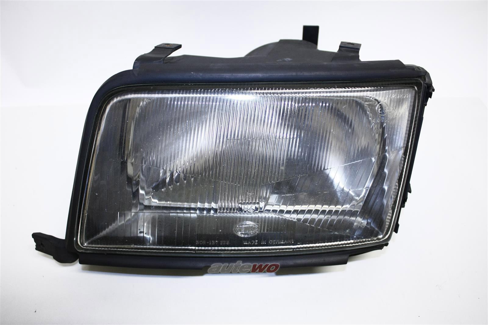 Audi 100 C4 Scheinwerfer original Hella ohne Nebelscheinwerfer Links 4A0941029