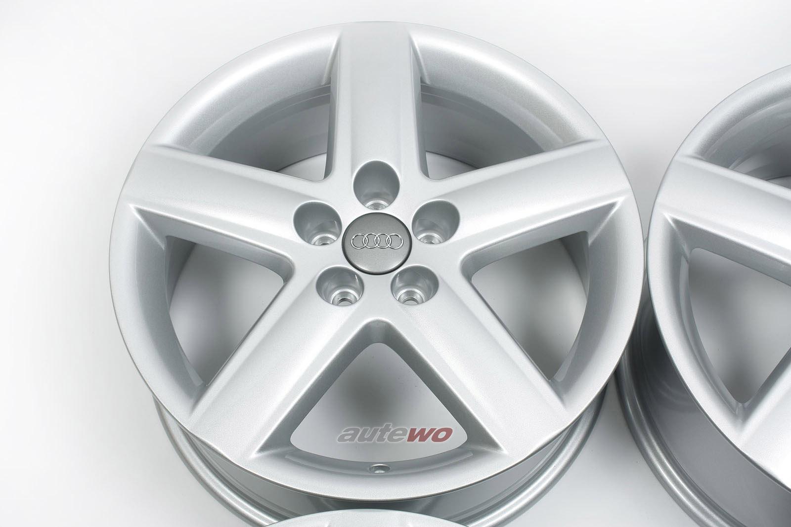 8L0601025AD NEU Audi A3 8L Original Felgen 5-Speichen 7 x 17 ET42 5x100