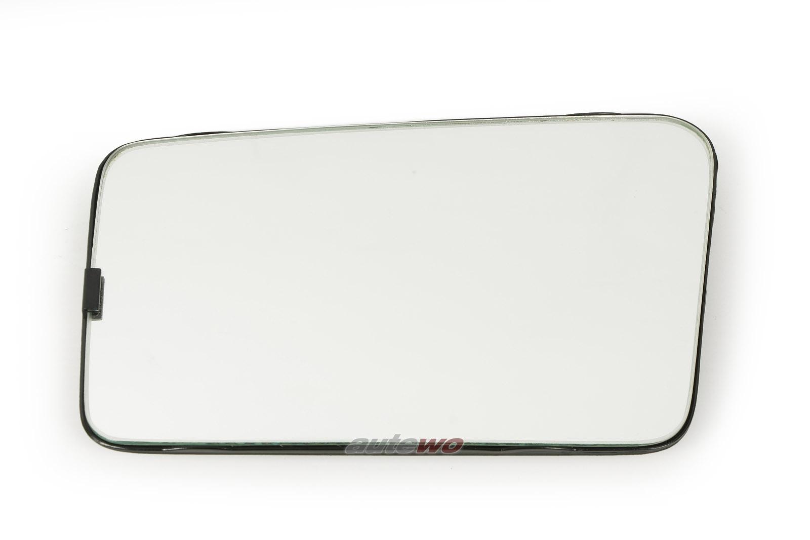 811857535C NEU Audi 80 Typ 81/85 Spiegelglas konvex Links