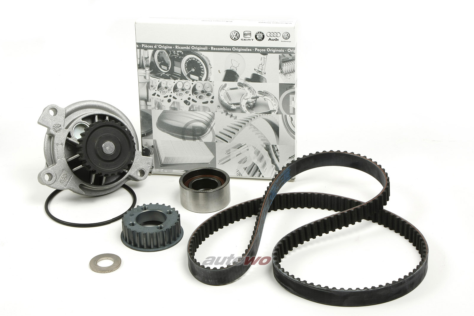 Audi RS2 P1 2.2l Zahnriemen-Kit Umlenkrolle Wasserpumpe