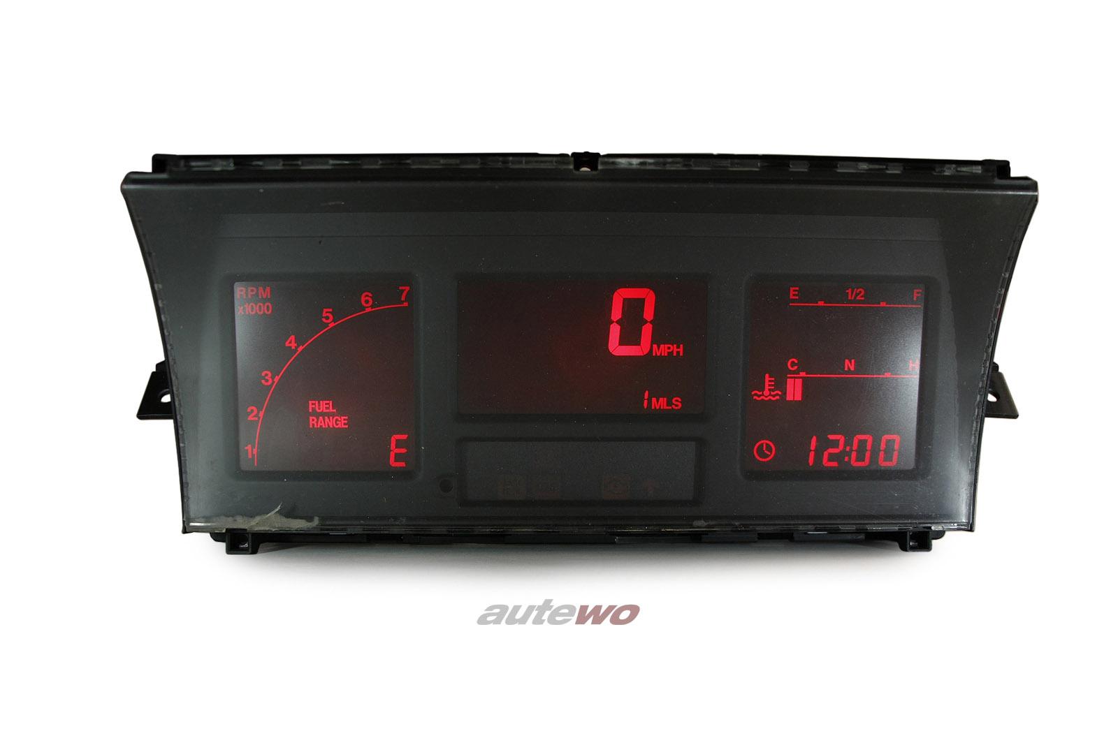 811919038AR Audi 90/Coupe Typ 81/85/Urquattro rotes Digifiz/Instrument 100% ok