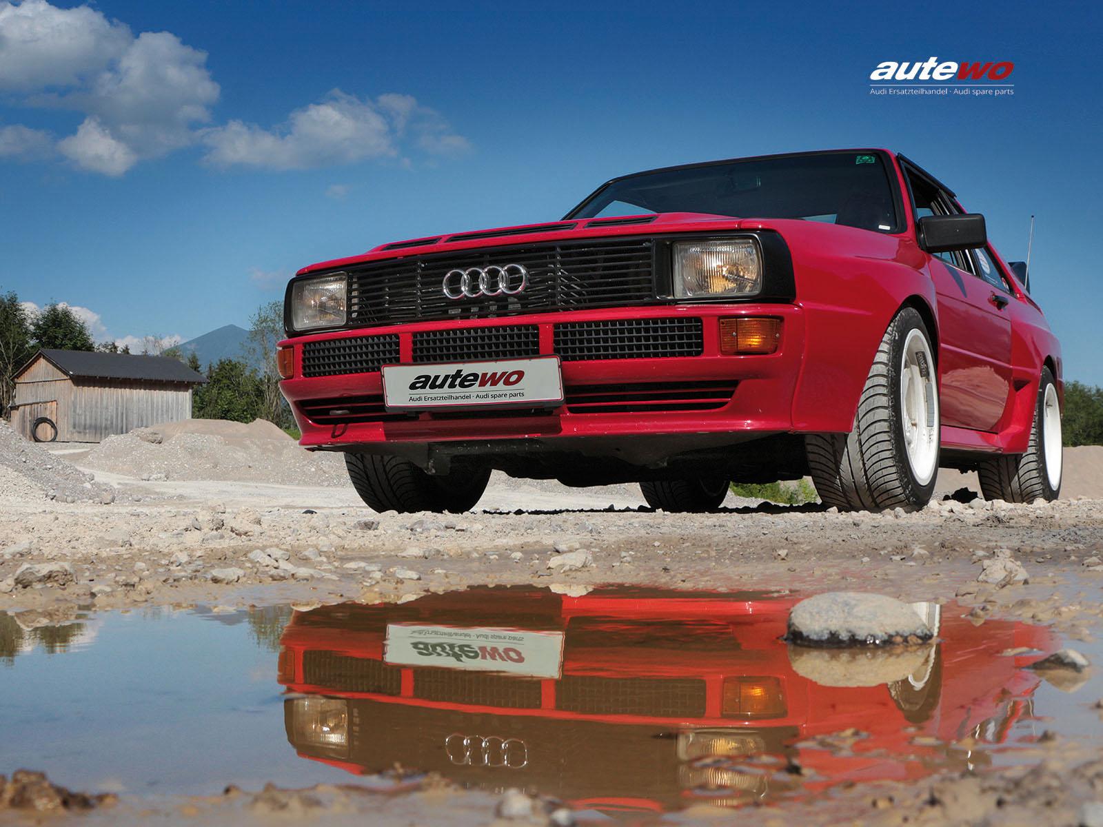 autewo-Poster DIN A2 Motiv original Audi Sportquattro