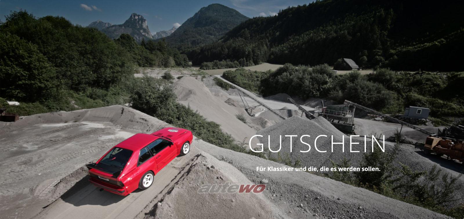 autewo-Geschenkgutschein 25 Euro Motiv Sportquattro als Geschenkkarte