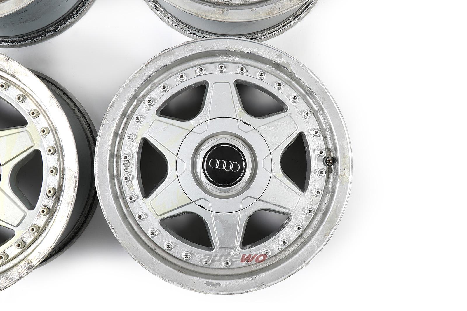 895601025E Audi 80 B4/Coupe/Cabrio 6-Speichen Speedline Alufelgensatz 7x15 ET37