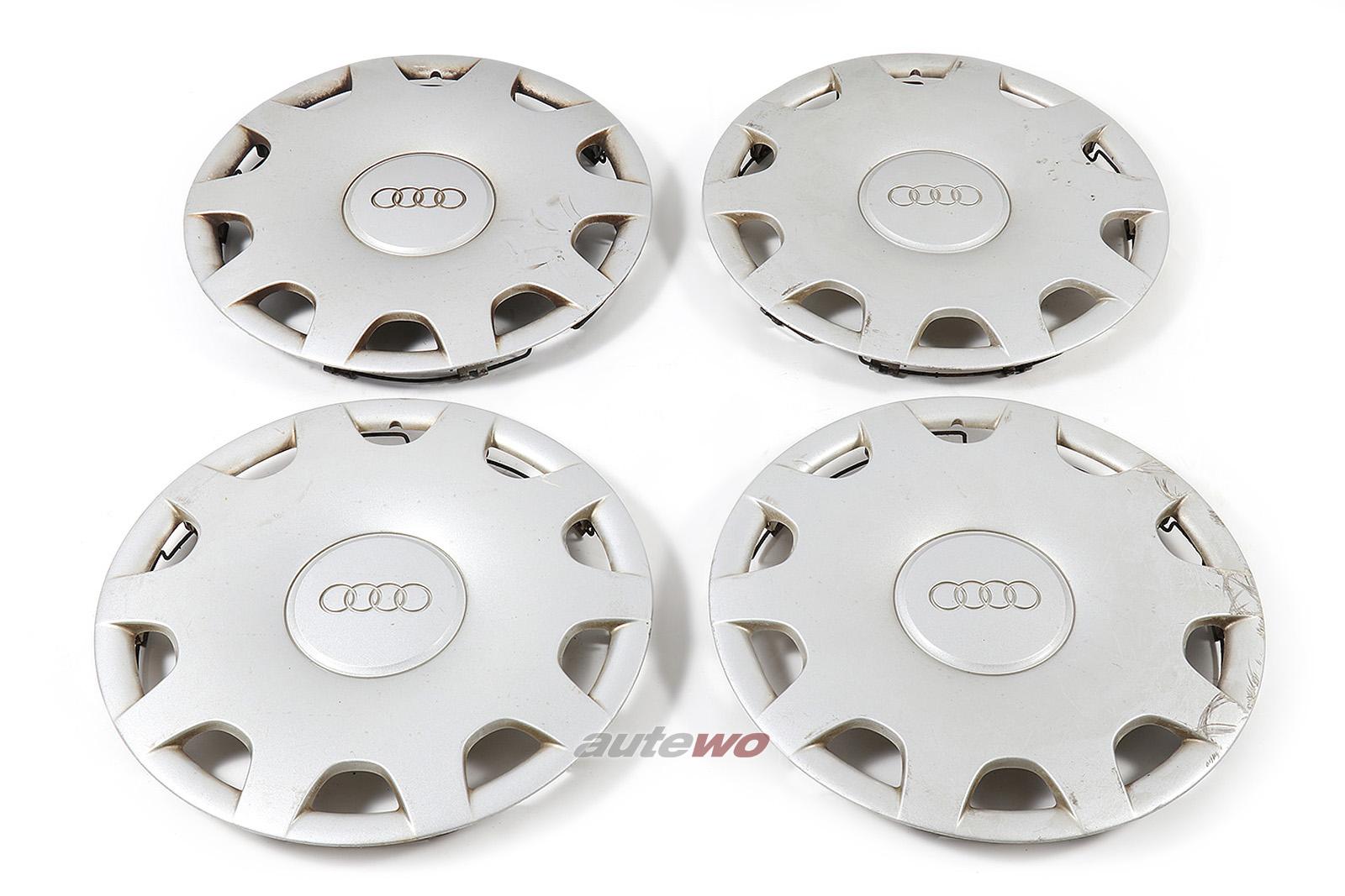 4A0601147A 4A0601147B Audi 100/A6 C4 original Radkappensatz 15 Zoll