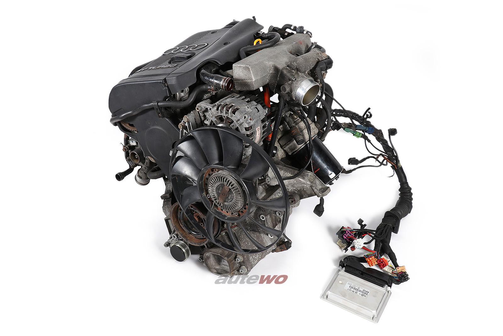 06B100098JX Audi/VW A4 B5/A6 4B/Passat 1.8l Turbo AWT 002511 Komplettmotor