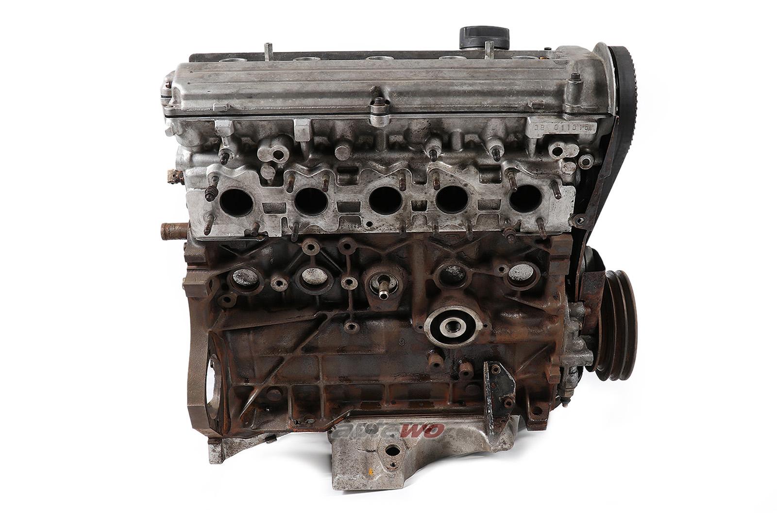 034100105D Audi 200/S2/Urquattro 5 Zylinder 20V Turbo 3B 011315 Rumpfmotor