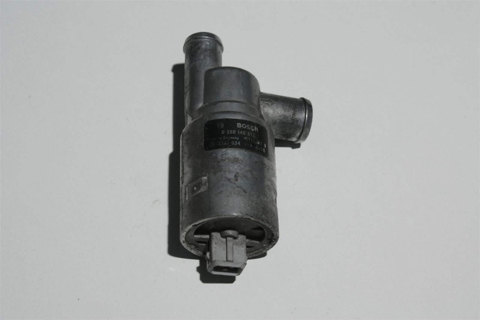 Audi 80/100/200/S2/S4/S6 C4 2.0-2.3l 5 Zylinder Leerlaufregelventil 034133455B
