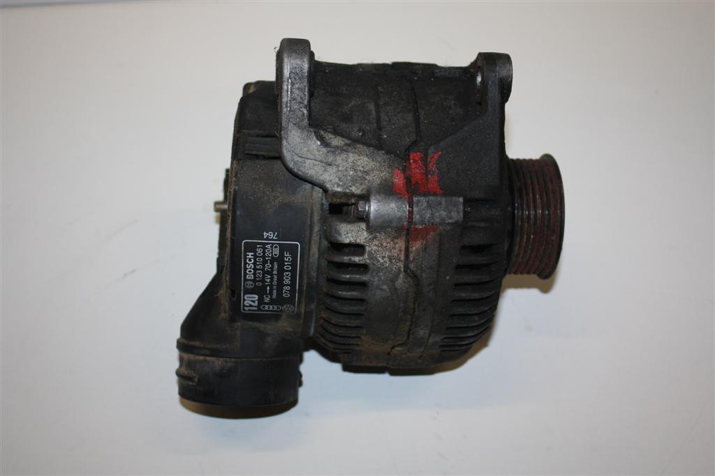Audi 80 B4/100/A6 C4/A8 D2 6 Zylinder Lichtmaschine 120A 078903015FX 078903015F