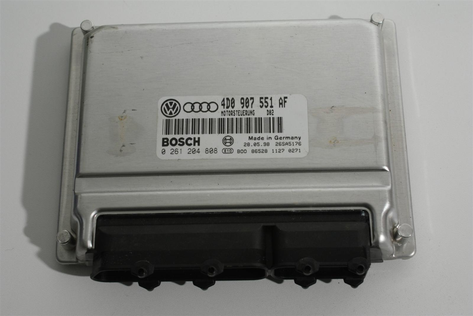 Audi A4 B5/A6 4B 2.8l ALG Motorsteuergerät 4D0907551AF