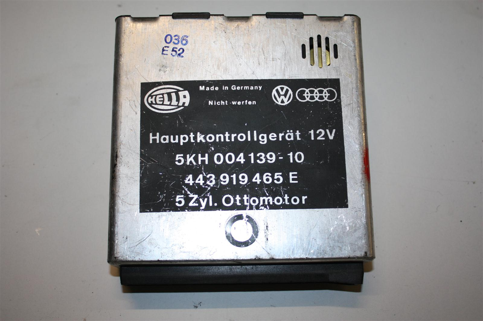 Audi/VW 100/200 Typ 44 Hauptkontrollgerät Checkpaket 443919465E