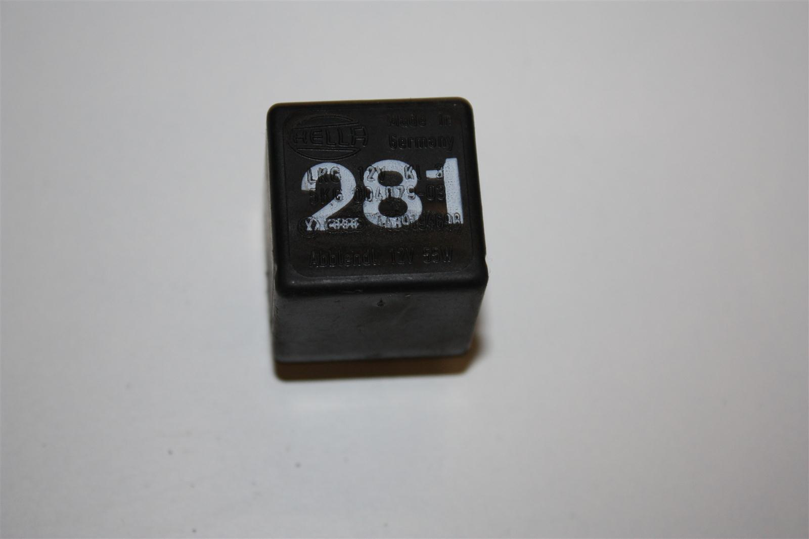 Audi/VW 80/90/100/200 Relais 281 Lampenkomtrollgerät 443919469B