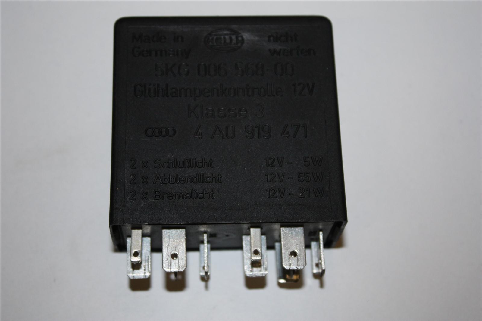 Audi/VW 100/A6 C4 Relais 301 Lampenkontrollgerät 4A0919471