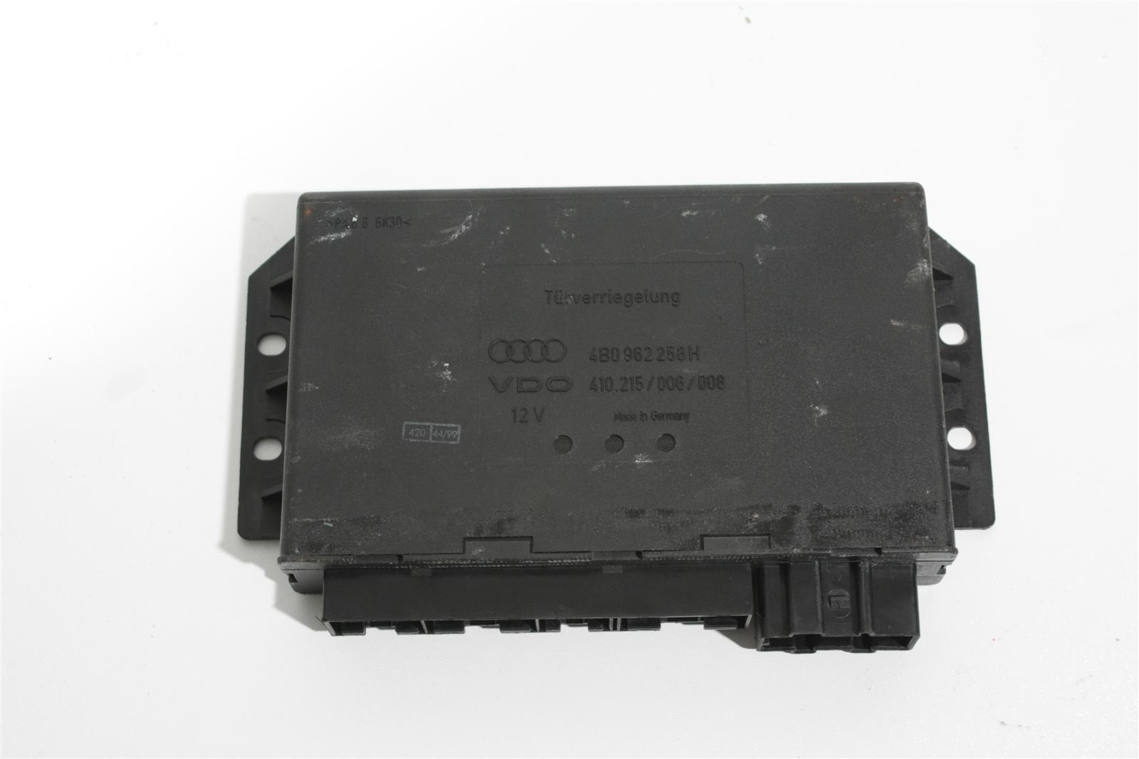 Audi A6 4B Steuergerät Türverriegelung Diebstahlwarnanlage 4B0962258H