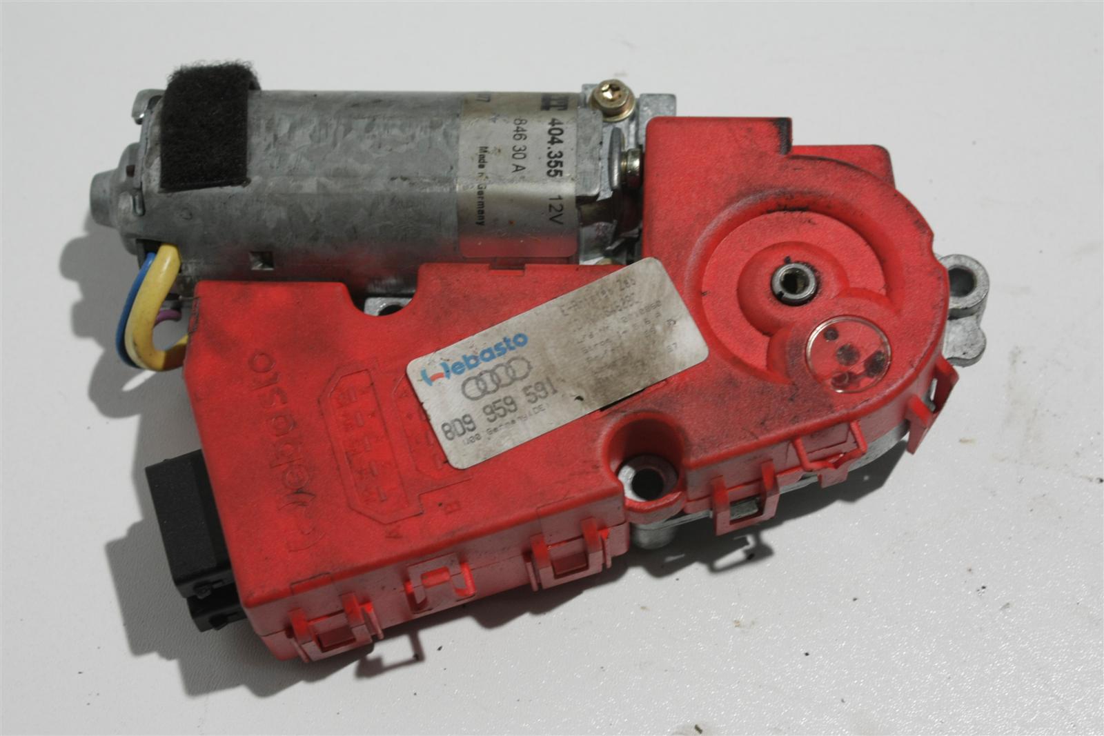 Audi A3/A4/Passat Schiebedachmotor Webasto 8D9959591A 8D9959591