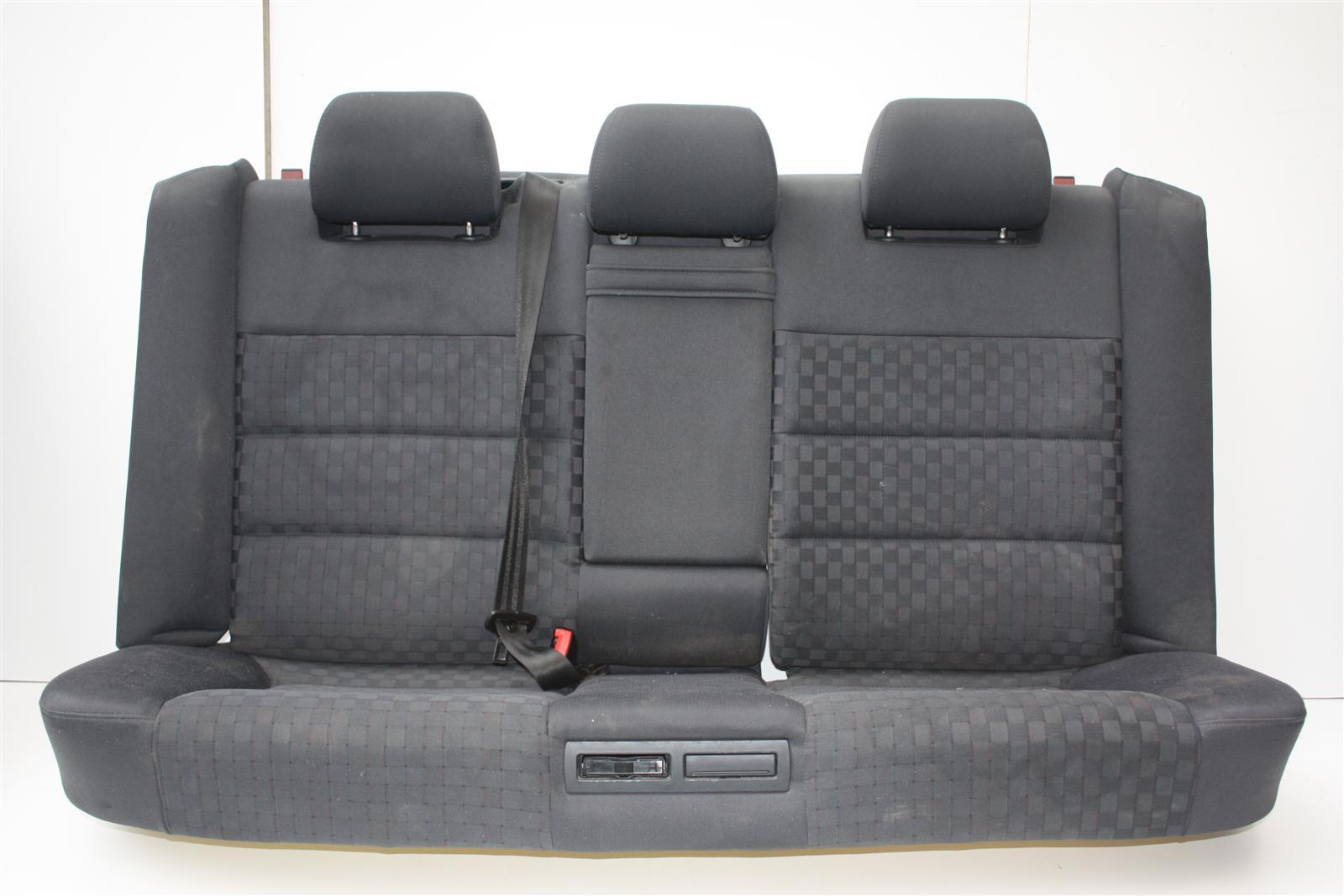 Audi A6 4B Avant Rücksitzbank Stoff grau Onyx BR/N4J/Q1A