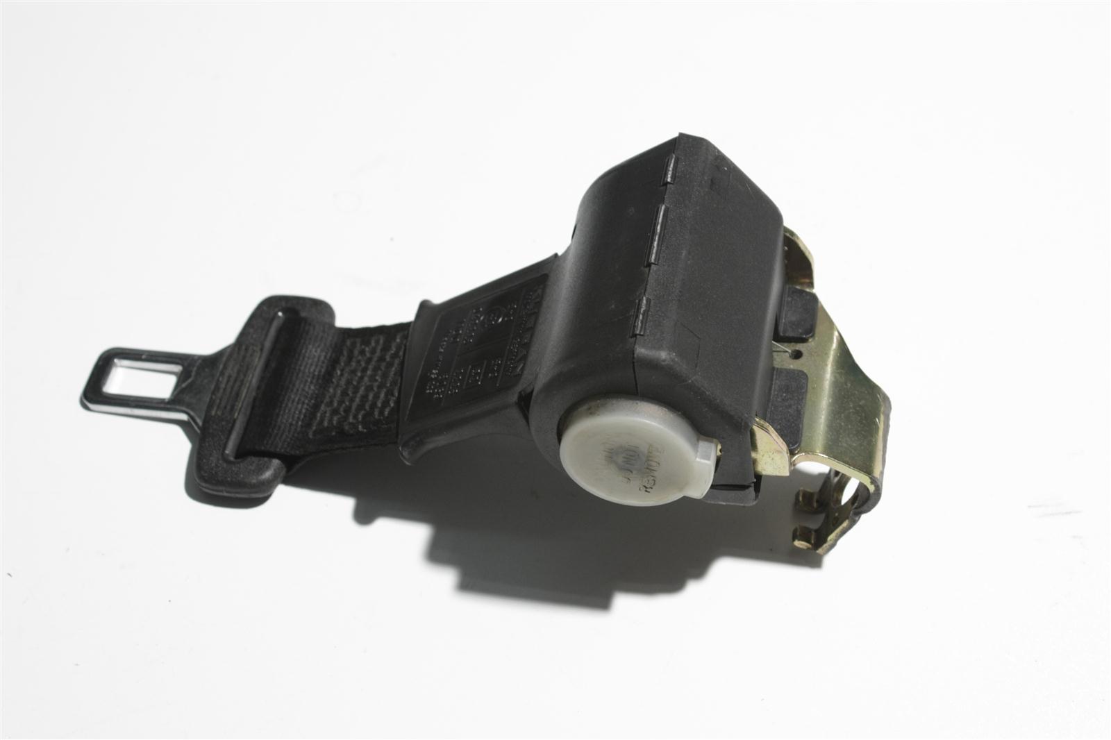 Audi 80/90 Typ 89 automatisch aufrollender Beckengurt Hinten Mitte schwarz 89385