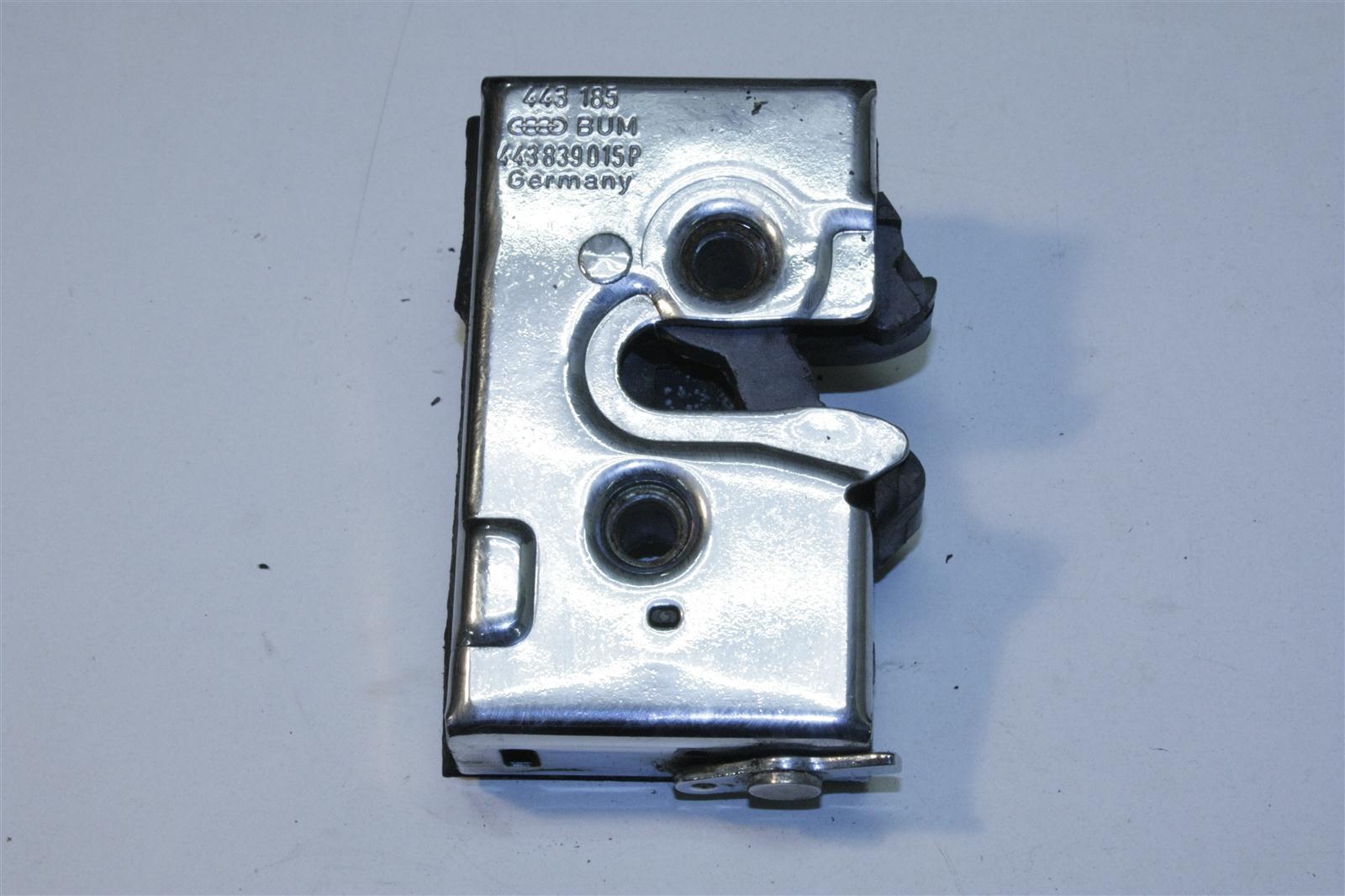 Audi 100/200 Typ 44/V8 Türschloss verchromt Hinten Links 441839015 443839015P