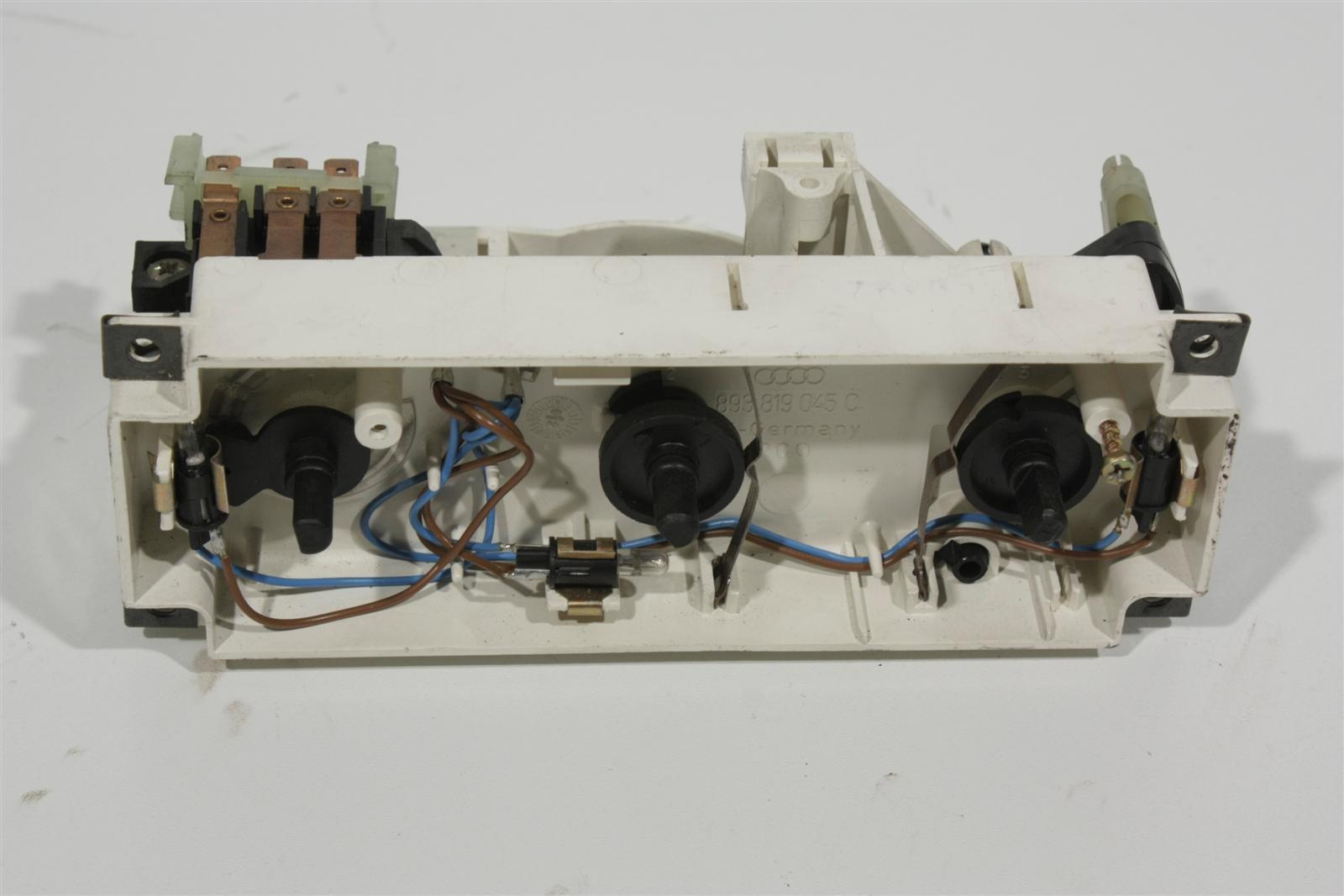 Audi 80/90 Typ 89/B4 Bedienteil Heizung 893819045C 893819045C