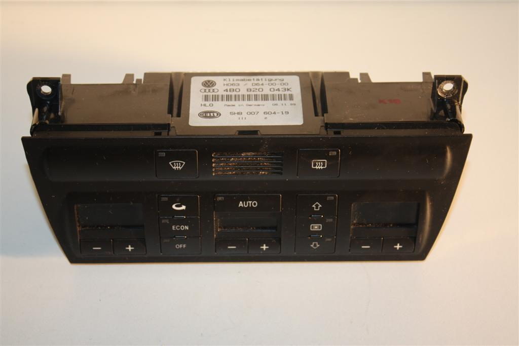 Audi A6/S6 4B Klimatronic-Display 4B0820043AG 4B0820043K