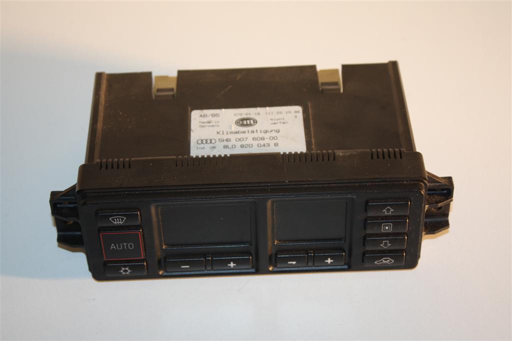 Audi A3/S3 8L & A4/S4 B5 Klimatronic-Display 8L0820043B