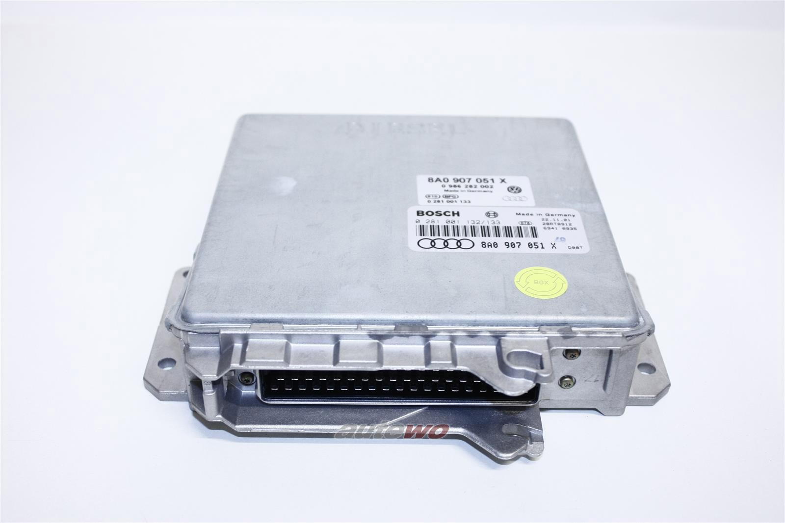 8A0907051 X 8A0907401A NEU Audi 80 B4 1.9l 4 Zyl. 1Z Motorsteuergerät