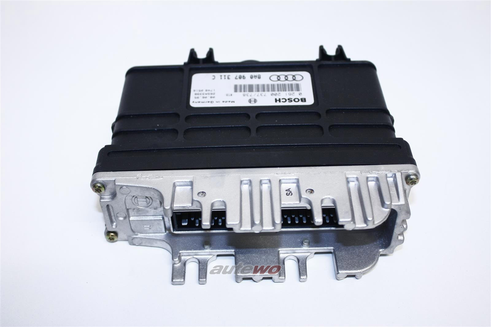 8A0997311GX 8A0907311C 0261200737 NEU Audi 80 B4 1.6l Motorsteuergerät