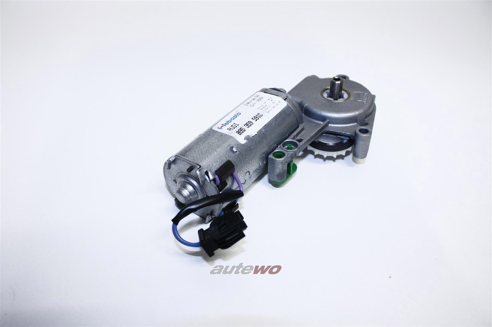 895959605B NEU Audi Coupe Typ 89/S2 Schiebedachmotor Vorwahlautomatik