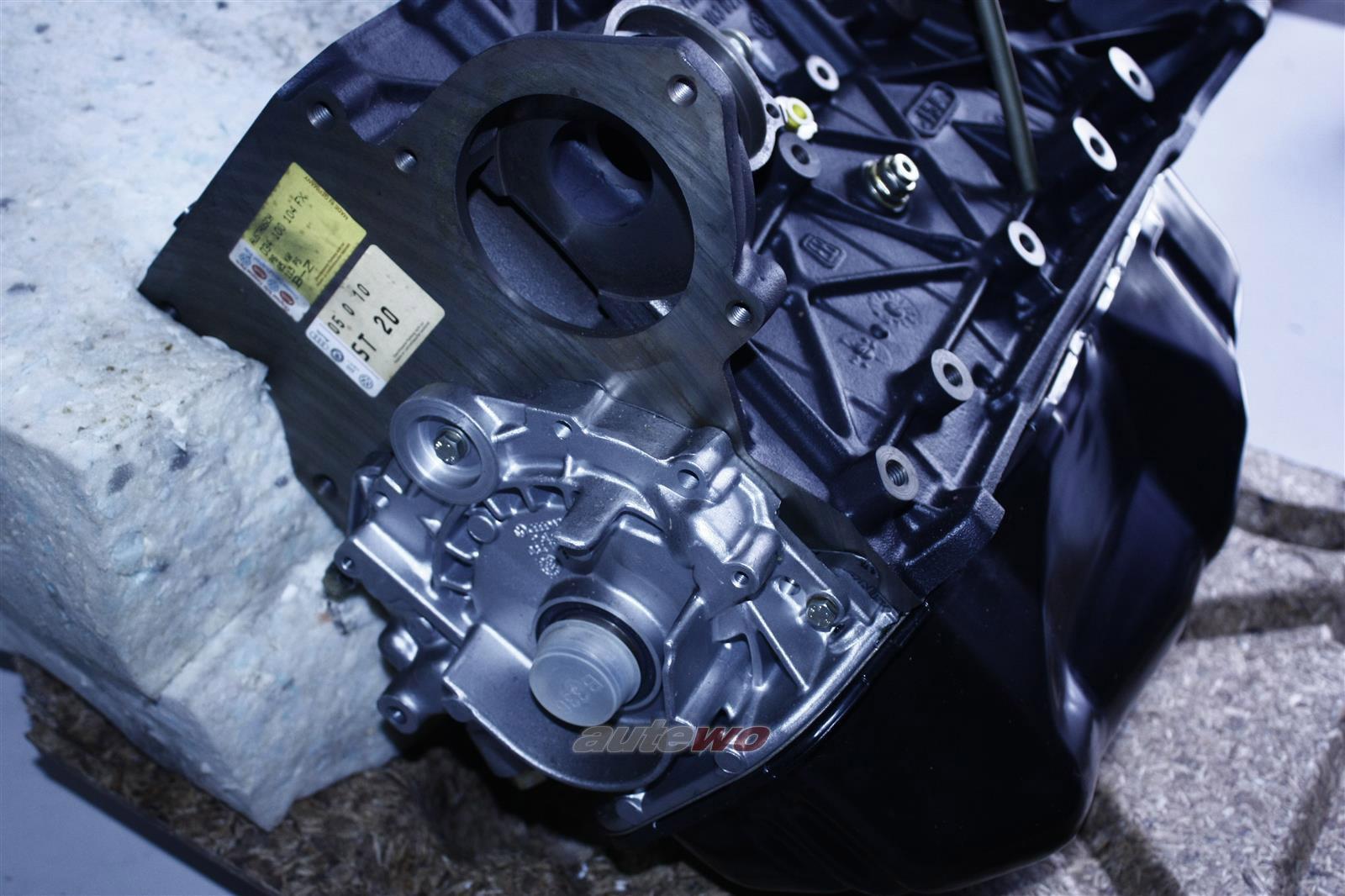 034100104FX NEU Audi 90 Typ 89/100 Typ 44 2.0l 5 Zyl. Teilmotor/Motorblock