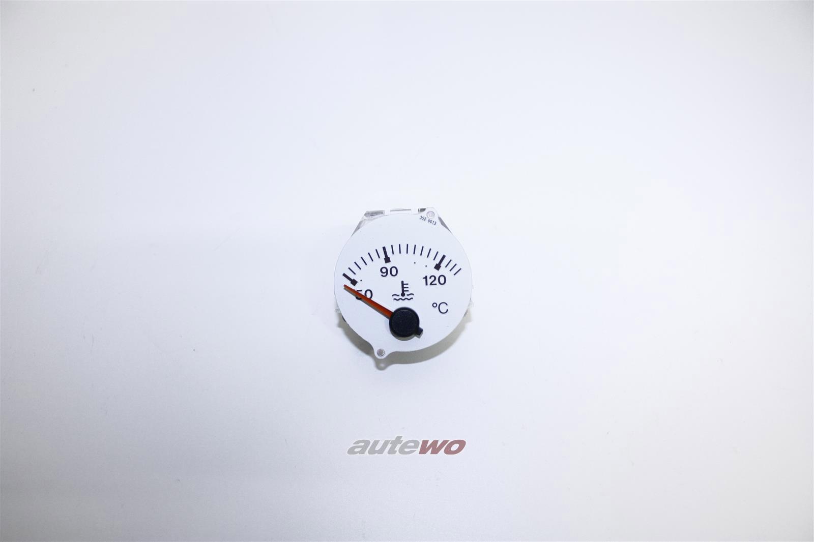 895919511A NEU Audi RS2 Wassertemperaturanzeige Hersteller VDO schneeweiß
