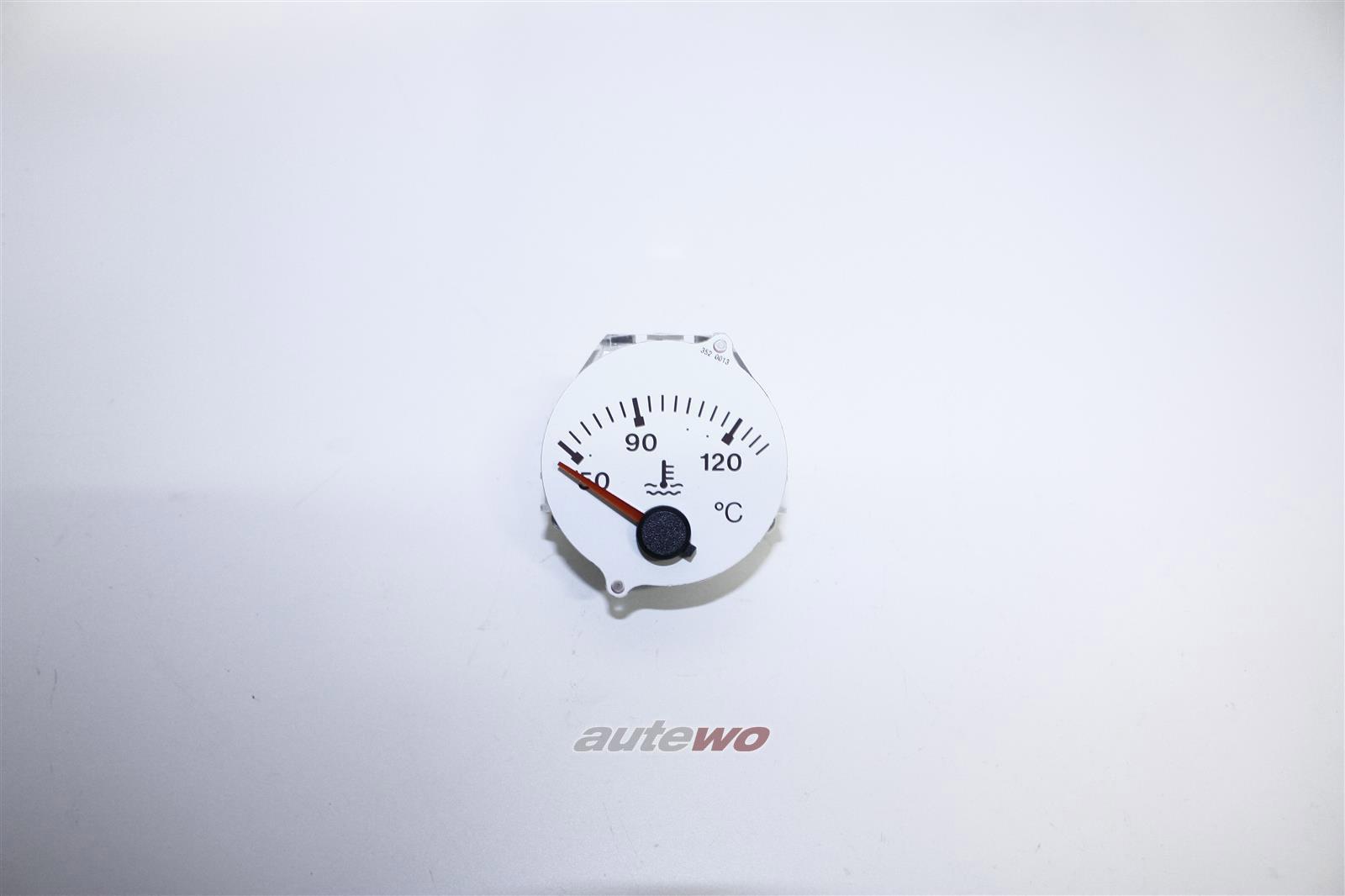 895919511B NEU Audi RS2 Wassertemperaturanzeige Hersteller VDO schneeweiß