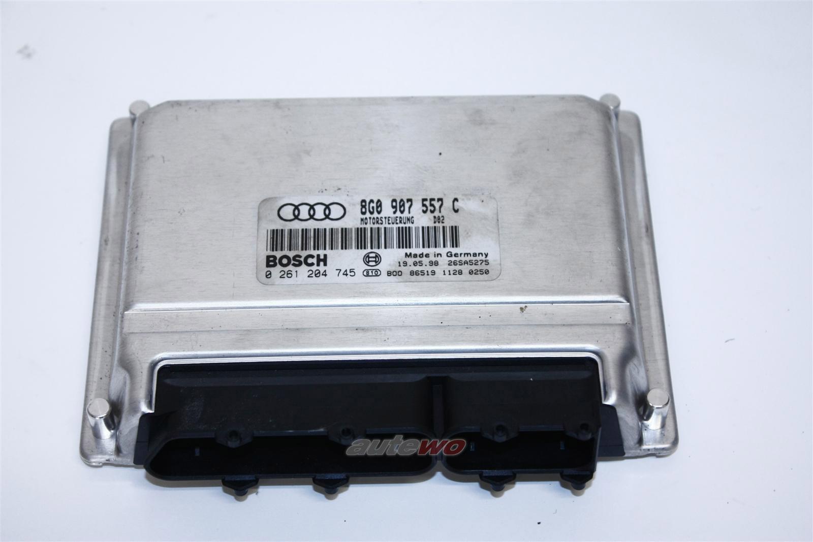 Audi Cabrio Typ 89 1.8l 125PS ADR Motorsteuergerät 8G0997557X 8G0907557C