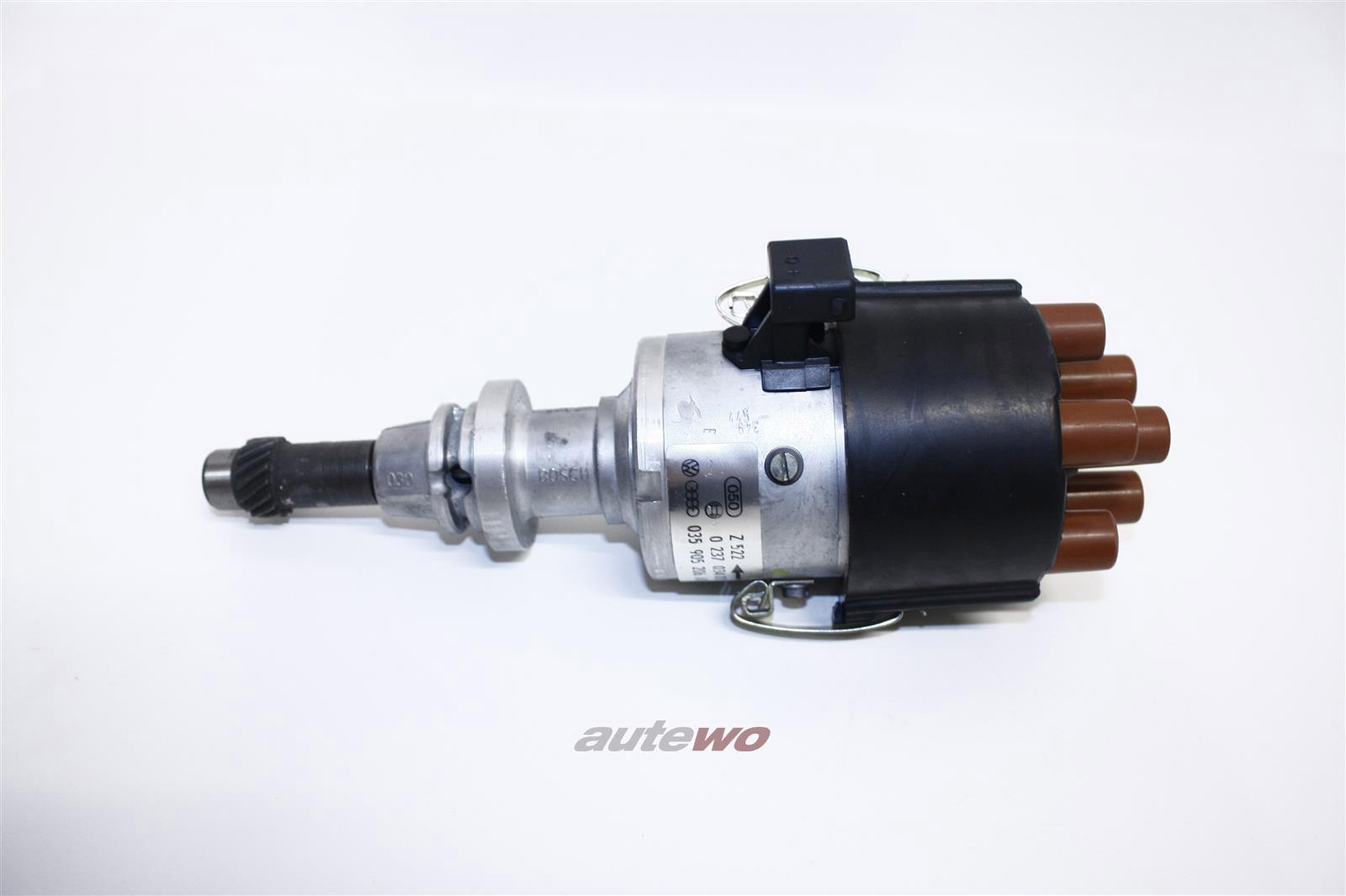 035905206AD 0237034011 NEU Audi/VW 90/Coupe Typ 81 2.0l 5 Zyl. Zündverteiler