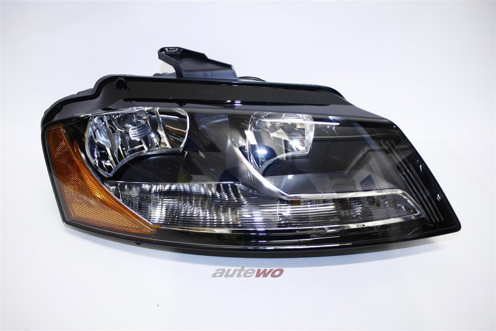 8P0941004BD NEU&ORIGINAL Audi A3 8P Scheinwerfer US-Version Rechts