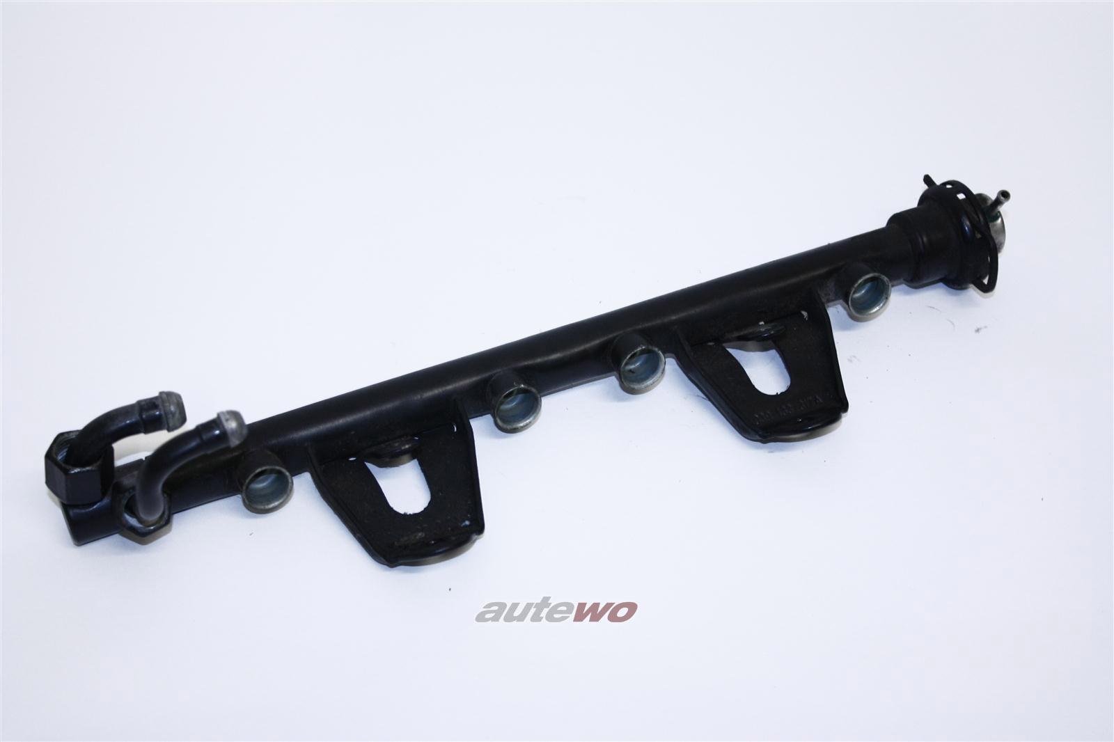 Audi 80 B4 2.0l 115PS Einspritzleiste mit Benzindruckregler 039133317C & 037133035C