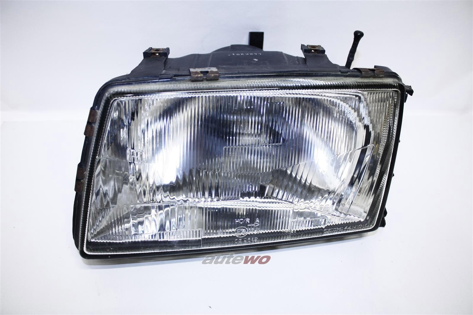 443941029E Audi 100 Typ 44 Scheinwerfer Hersteller Depo Links